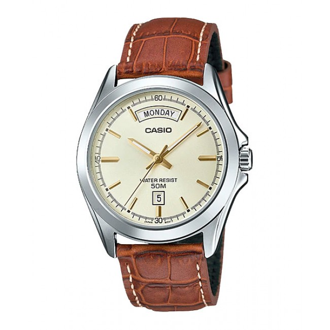 CASIO Men MTP-1370L-9A Analog Watch | Wide Day of the Week Indicator [PRE]