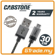 CABSTONE Metal Charger Micro USB Cable 30cm *CBSTR
