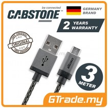 CABSTONE Metal Charger Micro USB Cable 3m *CBSTR