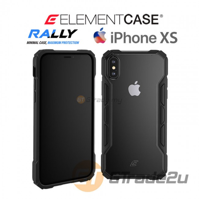 ELEMENT Case Rally High Impact Protect Case Apple iPhone Xs X Black