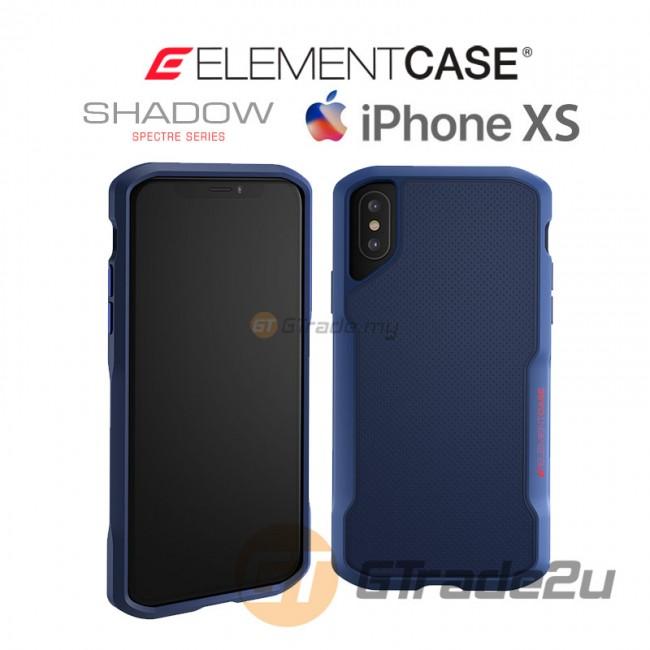 ELEMENT Case Shadow Suregrip Protect Case Apple iPhone Xs X Blue