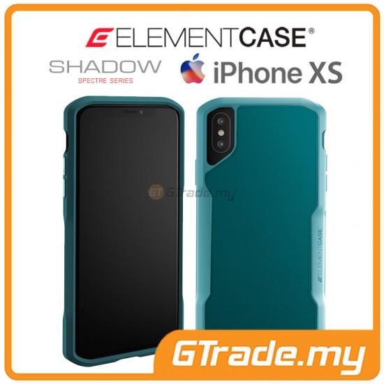 ELEMENT Case Shadow Suregrip Protect Case Apple iPhone Xs X Green