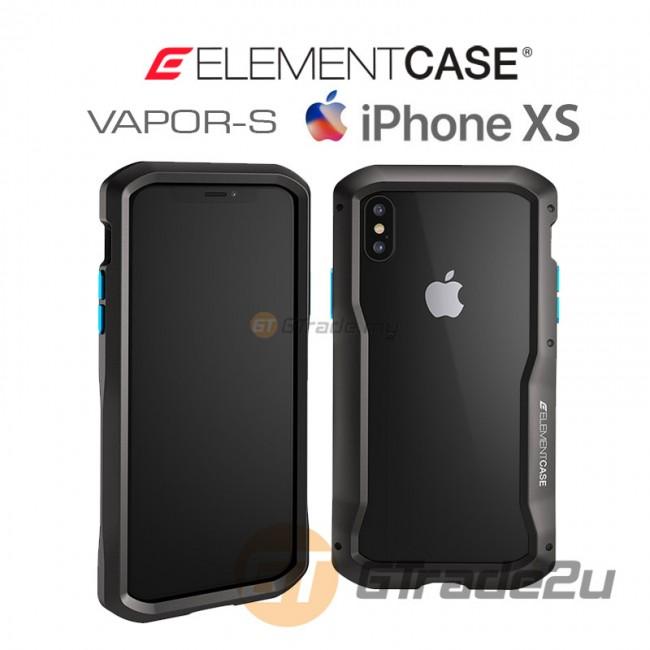 ELEMENT Case Vapor S CNC Bumper Protect Case Apple iPhone Xs X Black