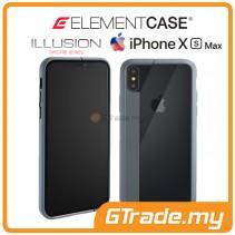 ELEMENT Case Illusion Slim Protect Case Apple iPhone Xs Max Grey