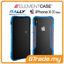 ELEMENT Case Rally High Impact Protect Case Apple iPhone Xs Max Blue Orange