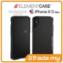 ELEMENT Case Shadow Suregrip Protect Case Apple iPhone Xs Max Black