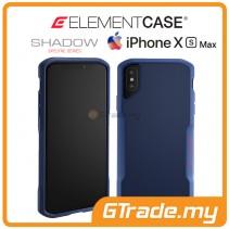 ELEMENT Case Shadow Suregrip Protect Case Apple iPhone Xs Max Blue