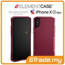 ELEMENT Case Shadow Suregrip Protect Case Apple iPhone Xs Max Red