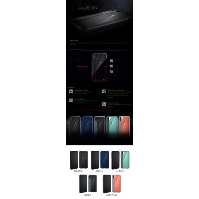 ELEMENT Case Illusion Slim Protect Case Apple iPhone Xs X Black