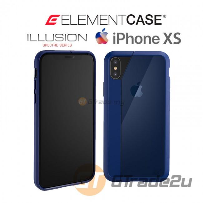 ELEMENT Case Illusion Slim Protect Case Apple iPhone Xs X Blue