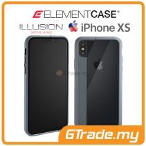 ELEMENT Case Illusion Slim Protect Case Apple iPhone Xs X Grey