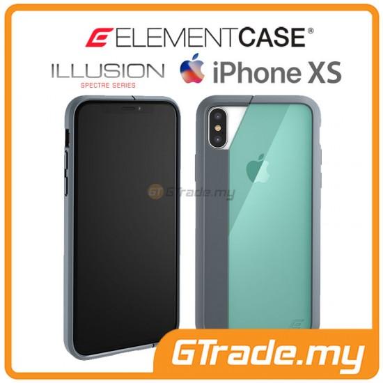 ELEMENT Case Illusion Slim Protect Case Apple iPhone Xs X Green