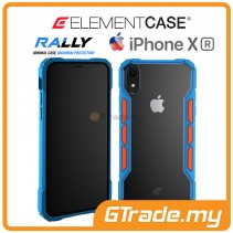 ELEMENT Case Rally High Impact Protect Case Apple iPhone Xr Blue Orange