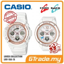 [READY STOCK] CASIO G-Shock Baby-G LOV-18A-7A Couple Watches Lover Collection