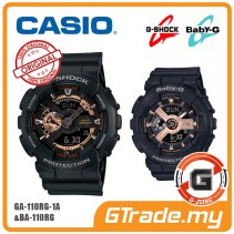 CASIO G-Shock Baby-G GA-110RG-1A BA-110RG-1A Couple Watches [G-ZONE]