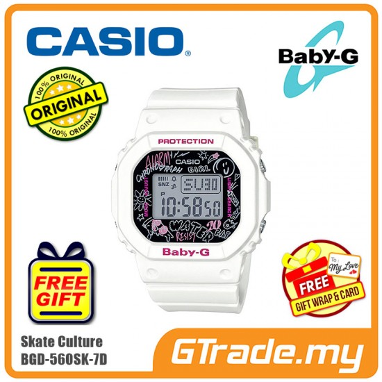 CASIO G-Shock BGD-560SK-7D Digital Watch Graffiti Splashed [PRE]