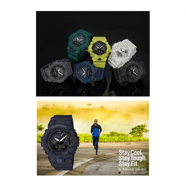 CASIO G-SHOCK G-SQUAD GBA-800-8A Analog Digital Watch [G-ZONE]