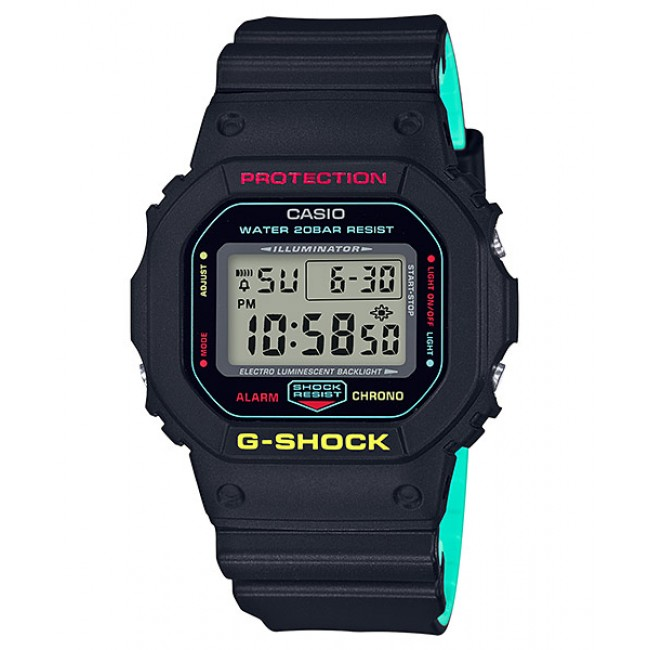 CASIO G-SHOCK DW-5600CMB-1D Analog Digital Watch | Sports Motif [G-ZONE]