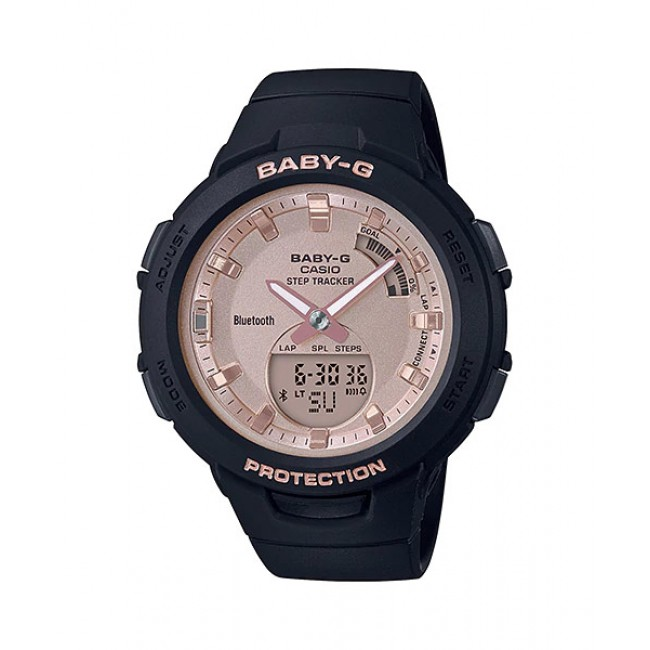 CASIO Baby-G BSA-B100MF-1A Analog Digital Watch G-Squad