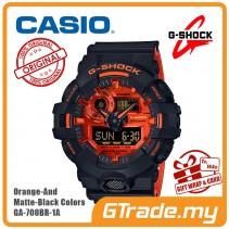 CASIO G-Shock GA-700BR-1A Digital Watch Orange Theme Color