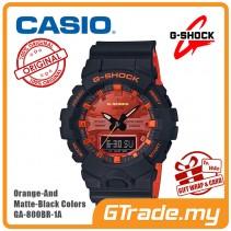 CASIO G-Shock GA-800BR-1A Digital Watch Orange Theme Color