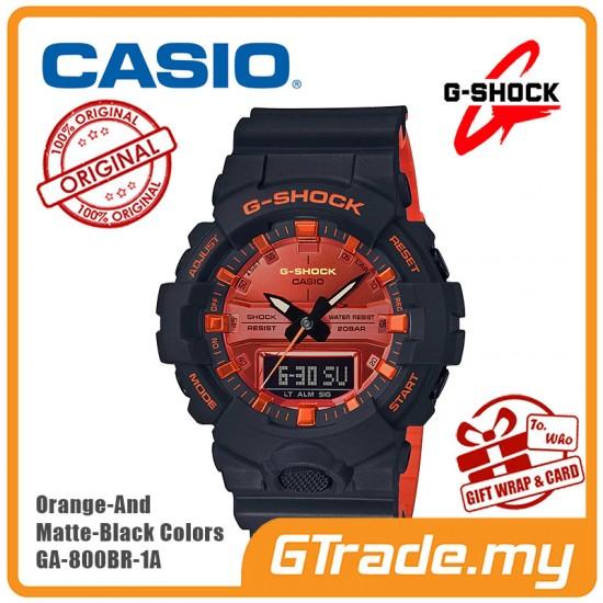 CASIO G-Shock GA-800BR-1A Digital Watch Orange Theme Color [PRE]