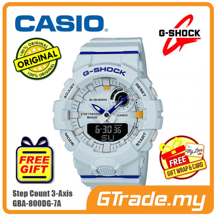 aa85c762c82 CASIO G-Shock GBA-800DG-7A Digital Watch G-SQUAD Smartphone link