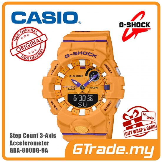 CASIO G-Shock GBA-800DG-9A Digital Watch G-SQUAD Smartphone link [PRE]