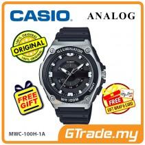 CASIO Men MWC-100H-1A Analog Watch LED light