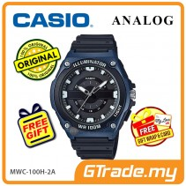 CASIO Men MWC-100H-2A Analog Watch LED light