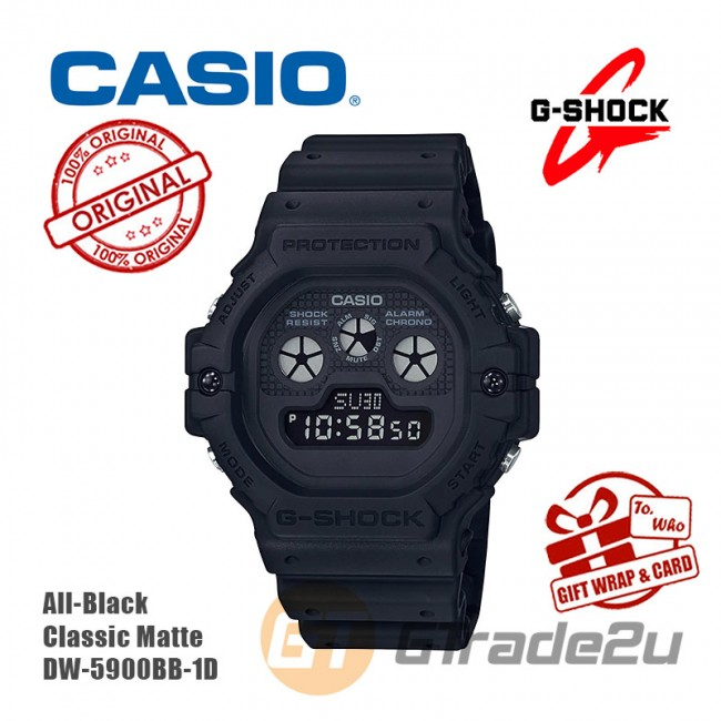 [READY STOCK] CASIO G-Shock DW-5900BB-1D Digital Watch Revival Model