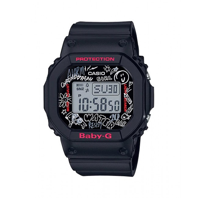 [READY STOCK] CASIO G-Shock BGD-560SK-1D Digital Watch Graffiti Splashed