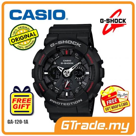 CASIO G-SHOCK GA-120-1A Analog Digital Watch | Sports Motif [PRE]