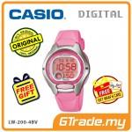 [READY STOCK] CASIO STANDARD LW-200-4BV Digital Watch | 10 Yrs Battery Life Petide
