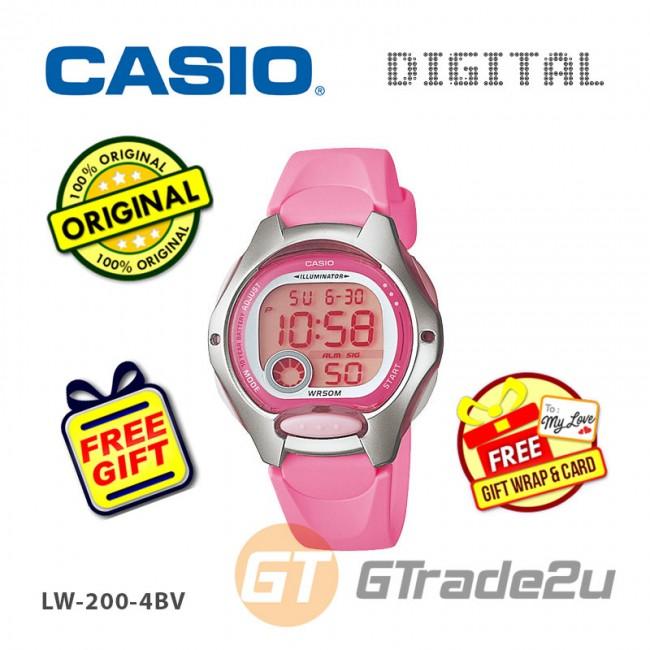 [READY STOCK] CASIO STANDARD LW-200-4BV Digital Watch   10 Yrs Battery Life Petide