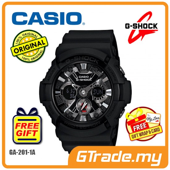 CASIO G-Shock GA-201-1A Analog Digital Watch [PRE]