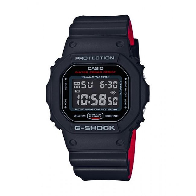 [G-ZONE] CASIO G-Shock DW-5600HR-1D Men Watch | Black X Red Heritage Color