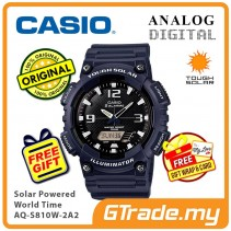 CASIO Men AQ-S810W-2A2 Analog Digital Watch Tough Solar [PRE]