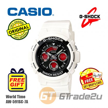 CASIO G-Shock AW-591SC-7A Analog Digital Watch Street Fashions [PRE]