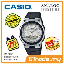 CASIO Men AW-80-7A2 Analog Digital Watch 10-Year Battery [PRE]