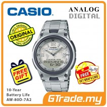 CASIO Men AW-80D-7A2 Analog Digital Watch 10-Year Battery [PRE]