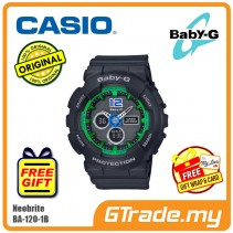 CASIO Baby-G BA-120-1B Analog Digital Watch Neobrite [PRE]