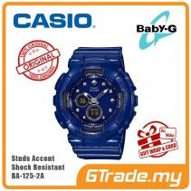 CASIO Baby-G BA-125-2A Analog Digital Watch Studs Accent [PRE]