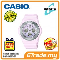CASIO Baby-G BGA-100ST-4A Women Digital Watch Pastel Colors [PRE]
