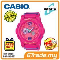 CASIO Baby-G BGA-180-4B3 Women Digital Watch Surfing Activities [PRE]