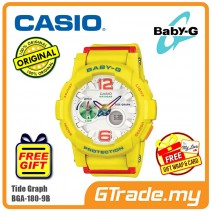 CASIO Baby-G BGA-180-9B Women Digital Watch Surfing Activities [PRE]