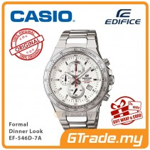 CASIO Edifice EF-546D-7A Men Chronograph Watch Formal Dinner Look [PRE]