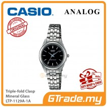 CASIO Women LTP-1129A-1A Ananlog Watch Stainless Steel Band [PRE]
