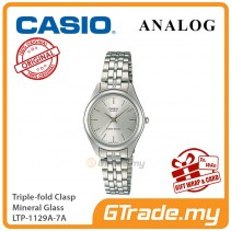 CASIO Women LTP-1129A-7A Ananlog Watch Stainless Steel Band [PRE]