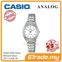 CASIO Women LTP-1129A-7B Ananlog Watch Stainless Steel Band [PRE]